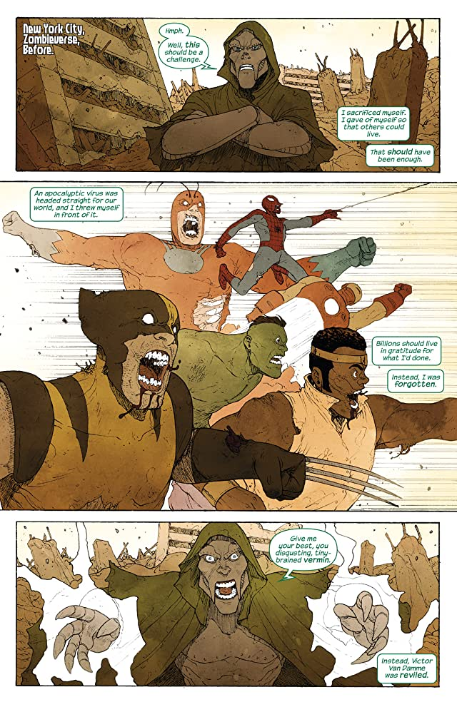 click for super-sized previews of Ultimate FF (2014-) #4