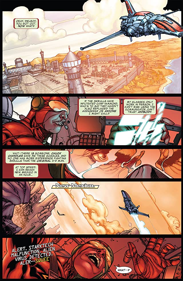 click for super-sized previews of Avengers: The Initiative #15