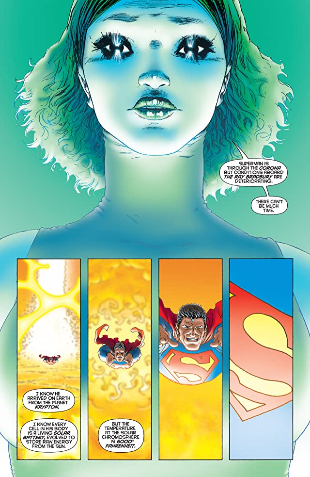 click for super-sized previews of All Star Superman #1