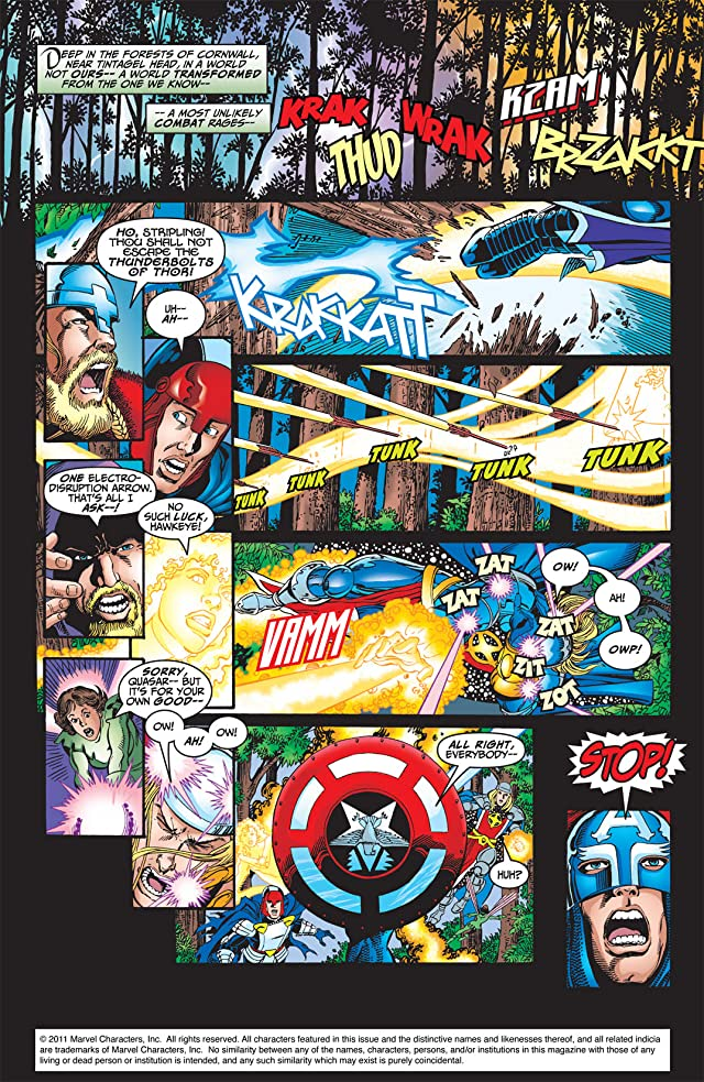 click for super-sized previews of Avengers (1998-2004) #3