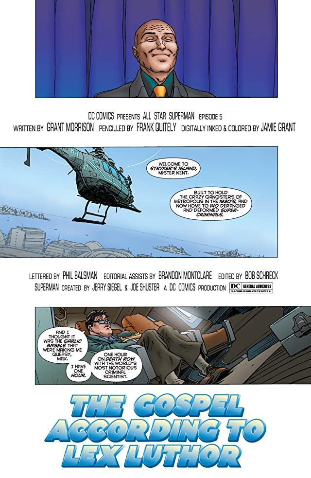 click for super-sized previews of All Star Superman #5