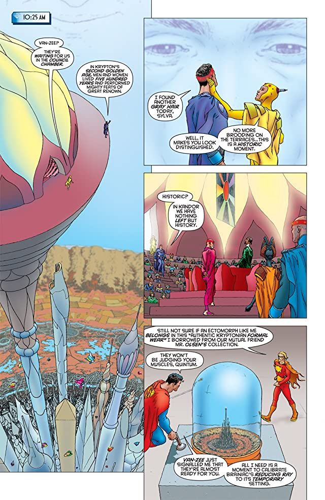 click for super-sized previews of All Star Superman #10