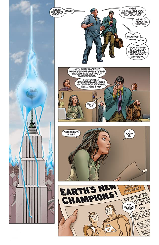 click for super-sized previews of All Star Superman #9