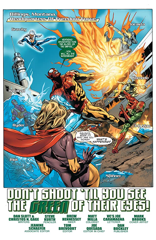 click for super-sized previews of Avengers: The Initiative #18
