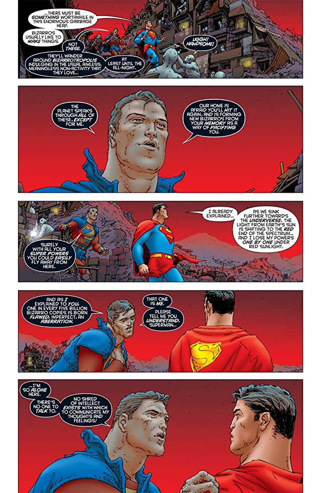 click for super-sized previews of All Star Superman #8