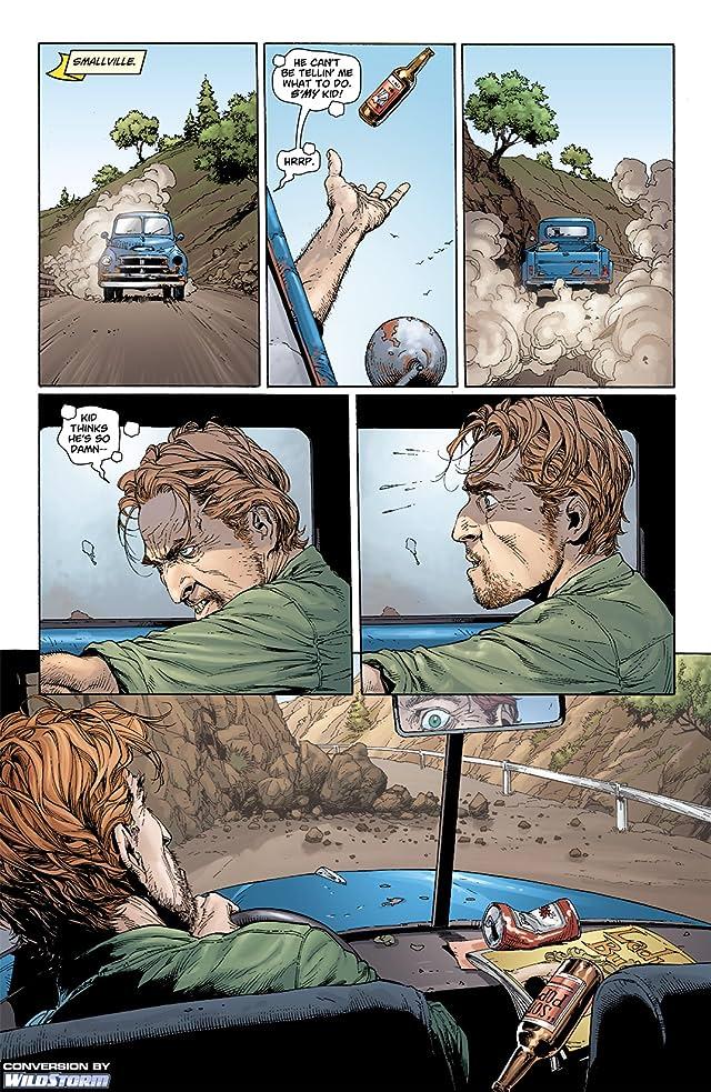 click for super-sized previews of Superman: Secret Origin #2