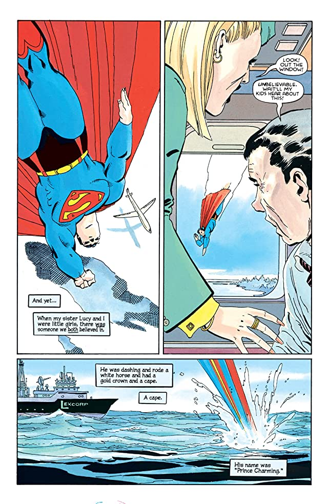 click for super-sized previews of Superman: For All Seasons #2 (of 4)