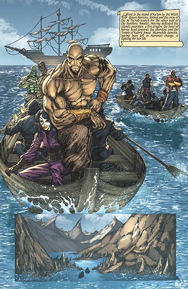 click for super-sized previews of 1001 Arabian Nights: The Adventures of Sinbad #4