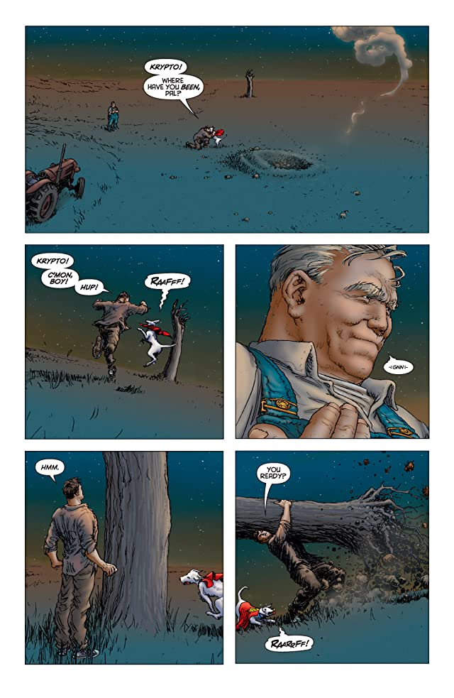 click for super-sized previews of All Star Superman #6