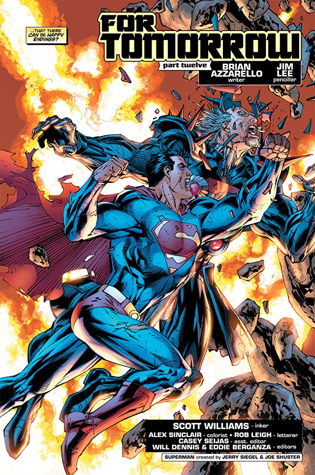 click for super-sized previews of Superman (1987-2006) #215