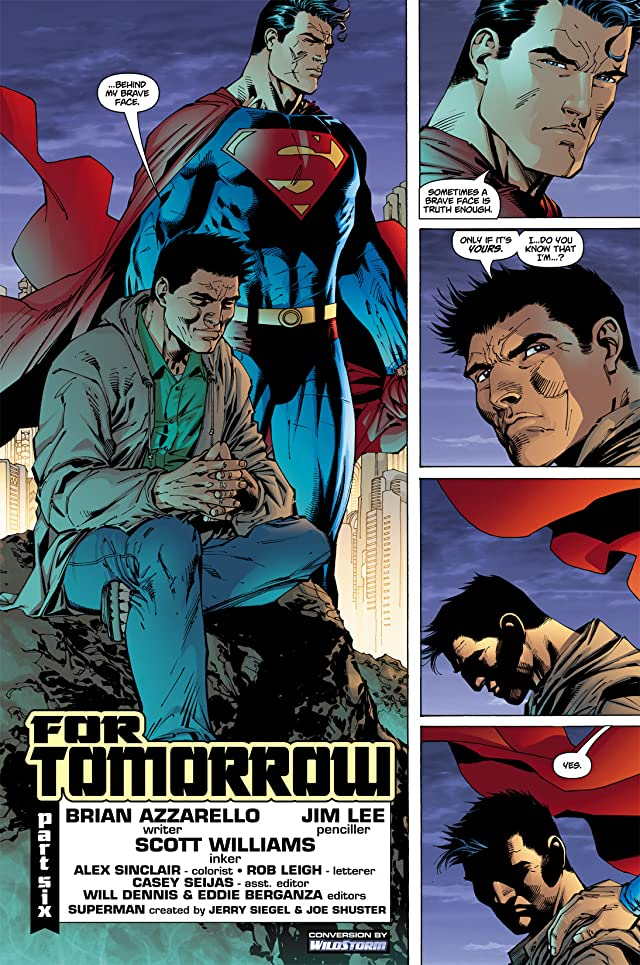 click for super-sized previews of Superman (1987-2006) #209