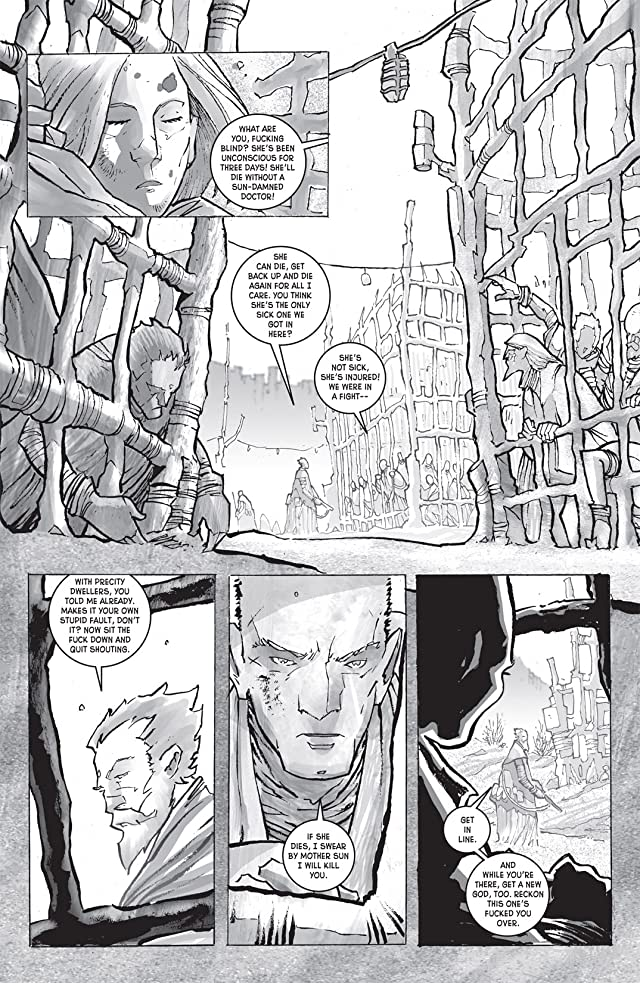 click for super-sized previews of Wasteland #8