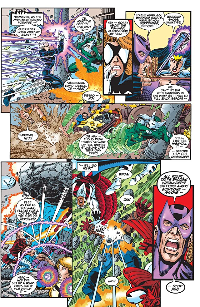 click for super-sized previews of Avengers (1998-2004) #4