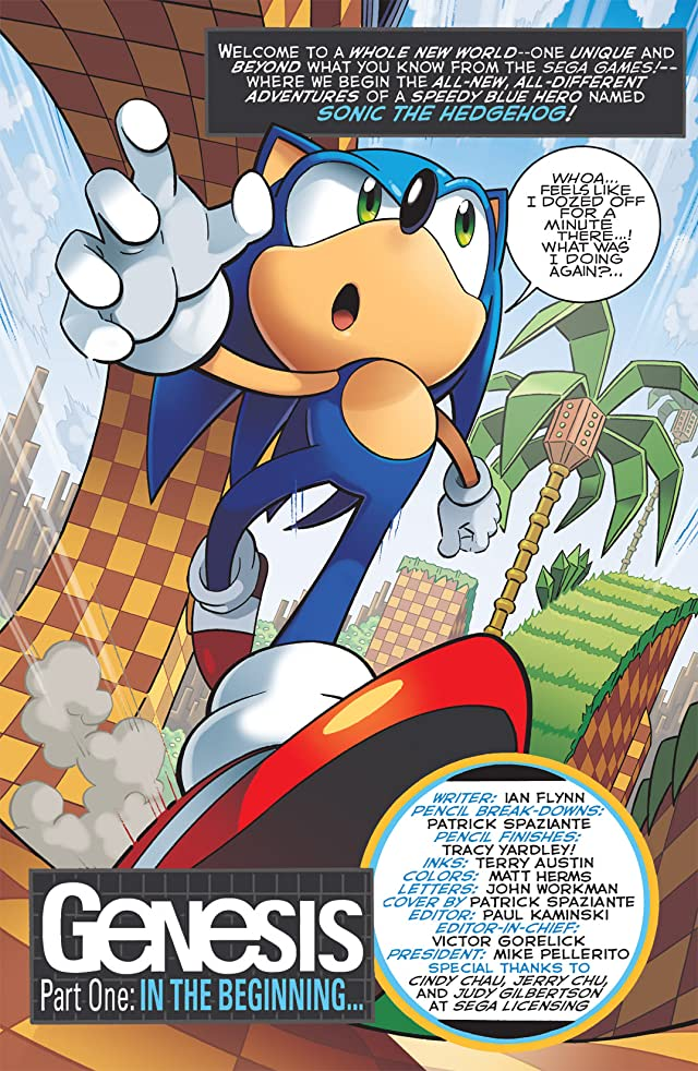 Sonic the Hedgehog #226