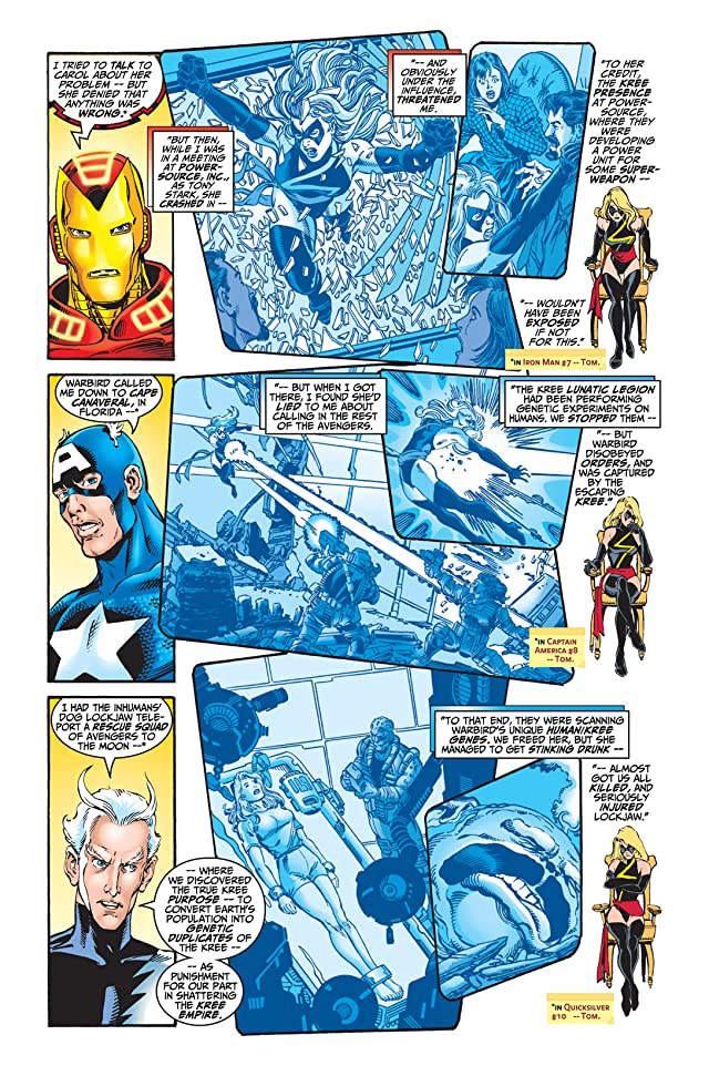 click for super-sized previews of Avengers (1998-2004) #7