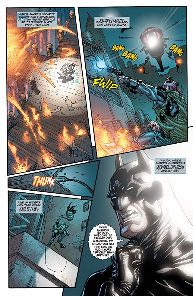 click for super-sized previews of Batman: Arkham City #4