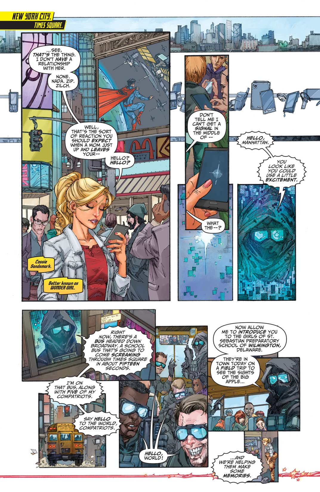 Teen Titans (2014-) #1