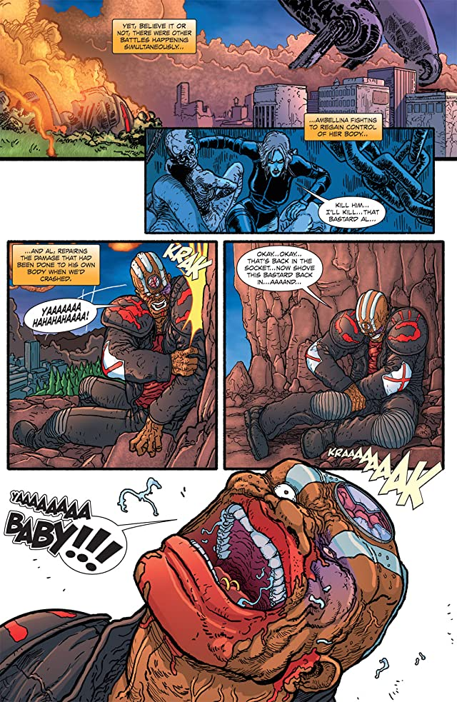 The Amory Wars: In Keeping Secrets of Silent Earth 3 #12 (of 12)