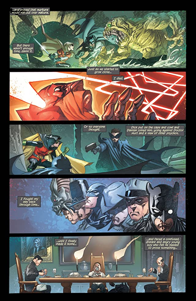 click for super-sized previews of Robin Rises: Omega (2014) #1