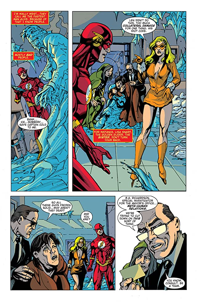 click for super-sized previews of DC Retroactive: The Flash - The 80s #1