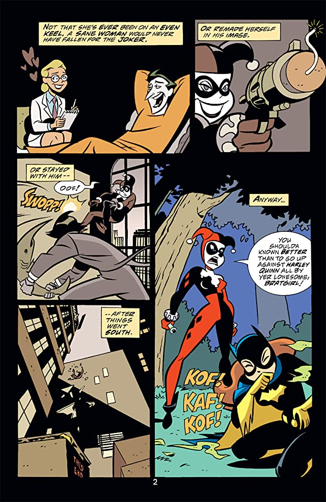 click for super-sized previews of Gotham Girls #3