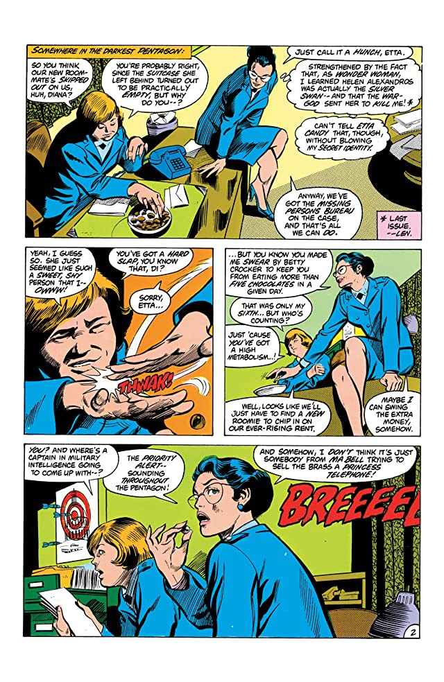 click for super-sized previews of Wonder Woman (1942-1986) #291