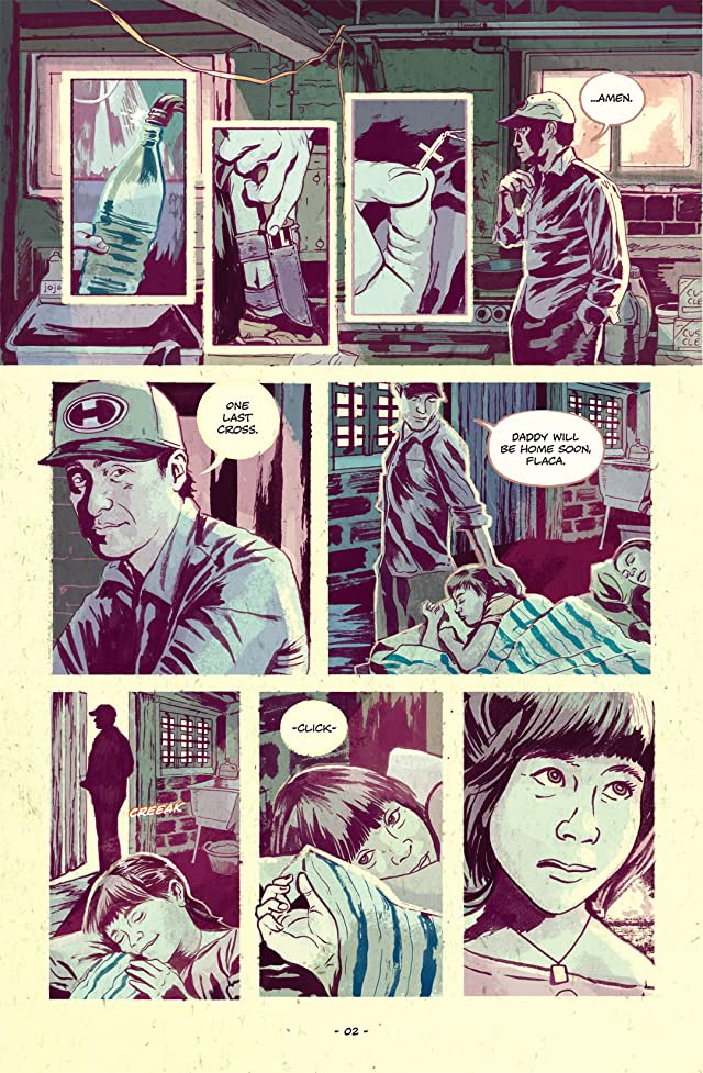 click for super-sized previews of Feeding Ground (English) #1