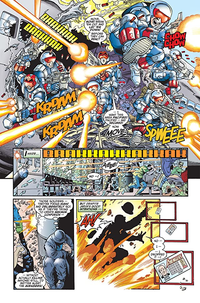 click for super-sized previews of Avengers (1998-2004) #8