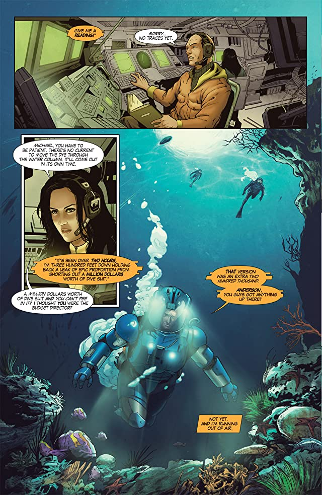 click for super-sized previews of The Vault #1