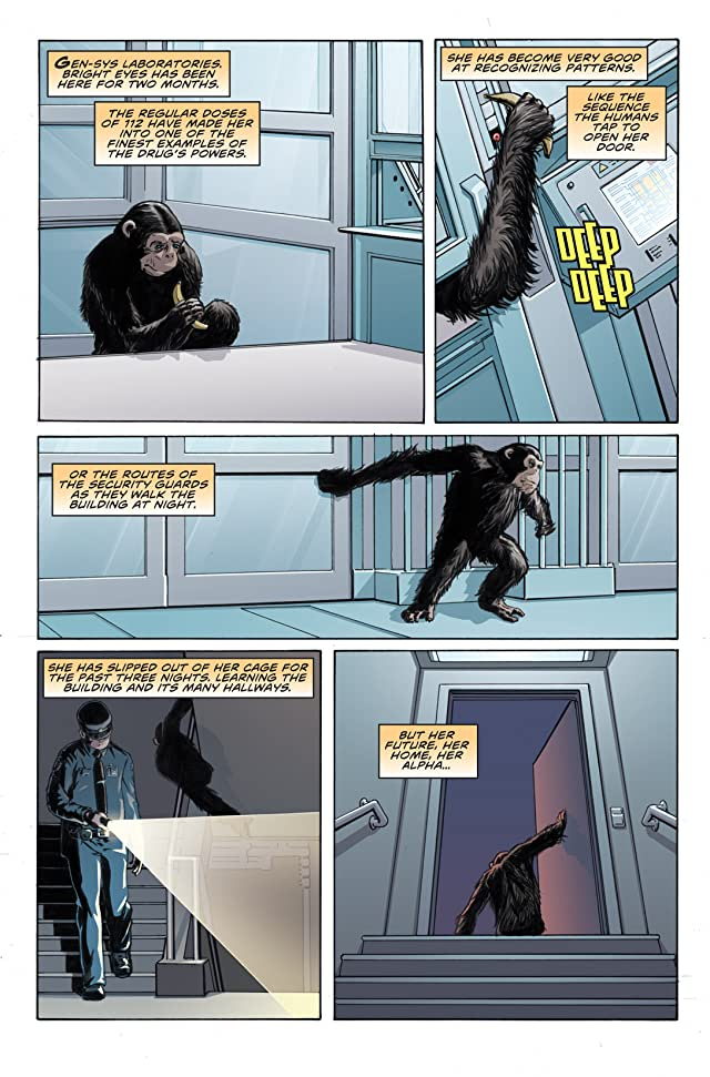 click for super-sized previews of Rise of the Planet of the Apes Prequel: Chapter 6