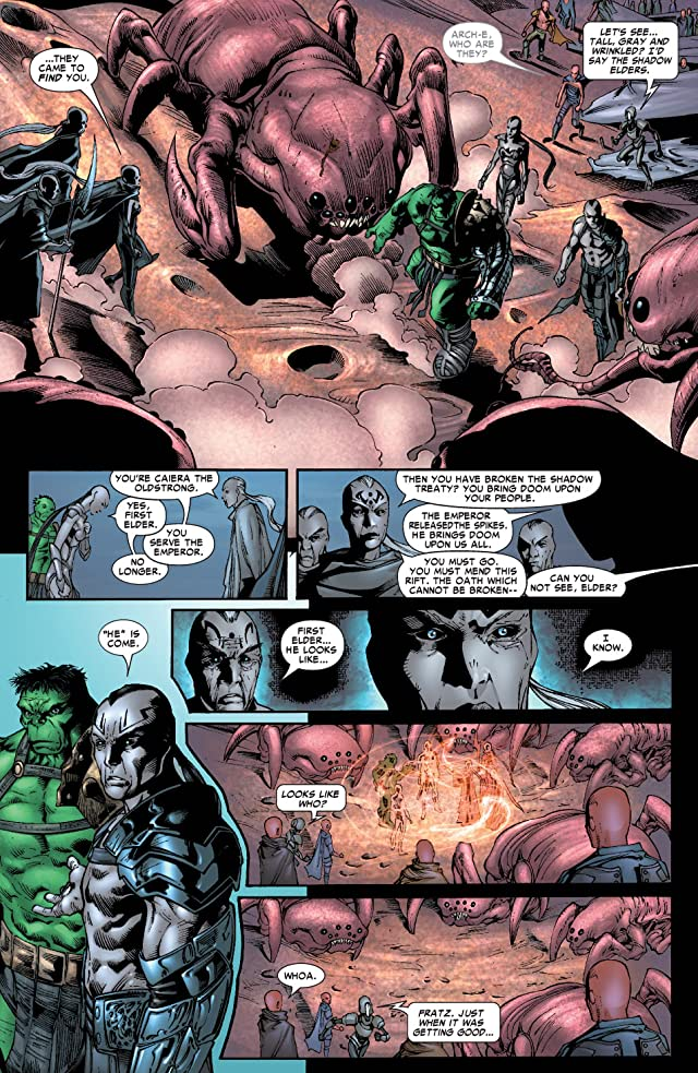 click for super-sized previews of Incredible Hulk (1999-2008) #101