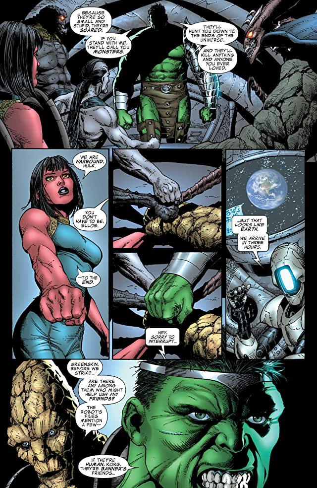 click for super-sized previews of Incredible Hulk (1999-2008) #107