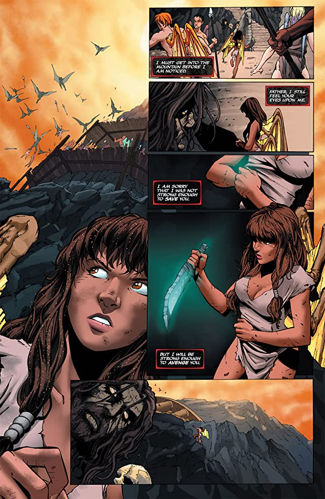 click for super-sized previews of Soulfire: Chaos Reign #3
