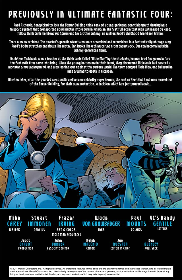 Ultimate Fantastic Four Annual #2
