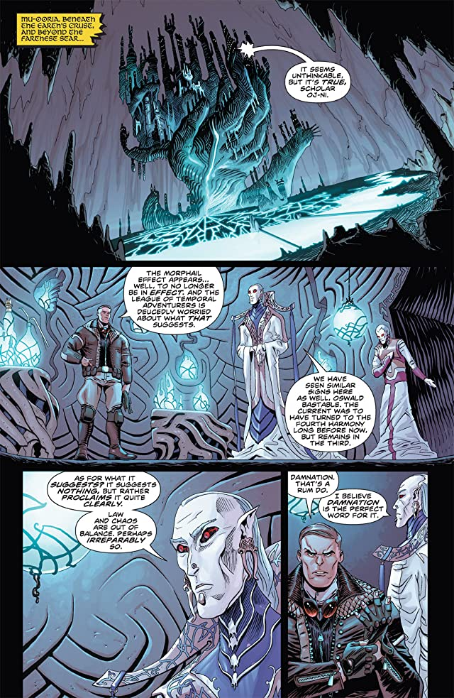 click for super-sized previews of Elric: The Balance Lost #2