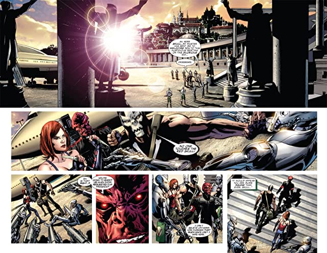 click for super-sized previews of Captain America: Reborn #4