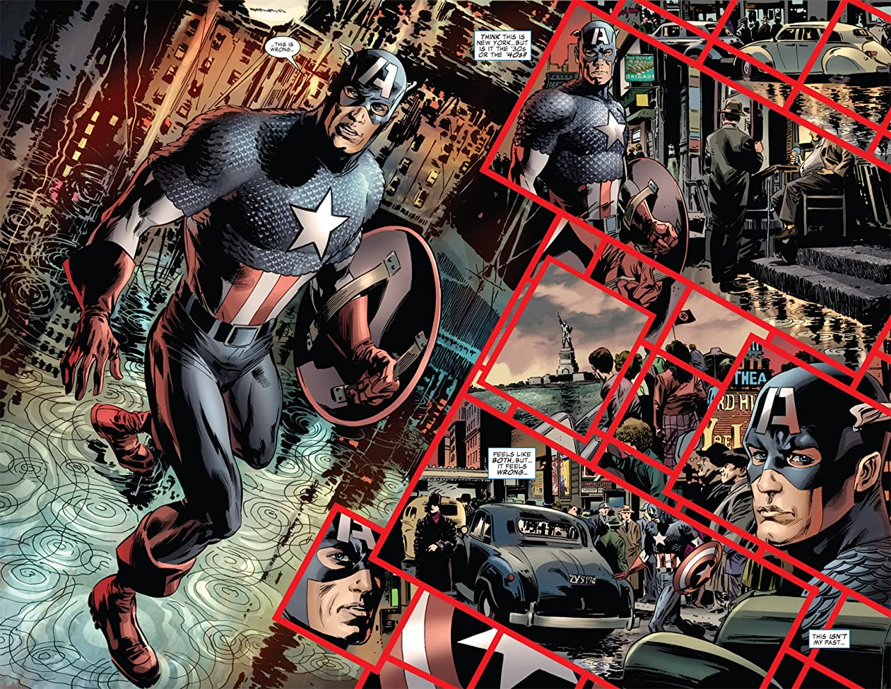 Captain America: Reborn #5 (of 6)