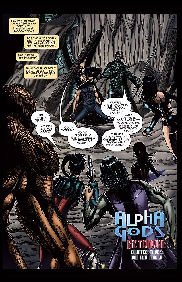Alphagods #3: Betrayal