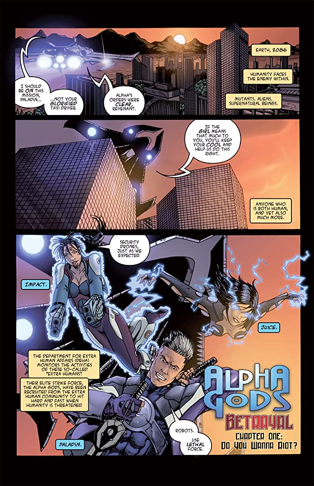 Alphagods #1: Betrayal