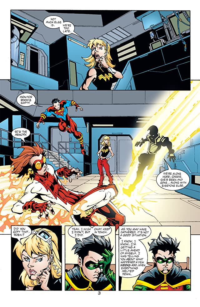 click for super-sized previews of Young Justice (1998-2003) #54