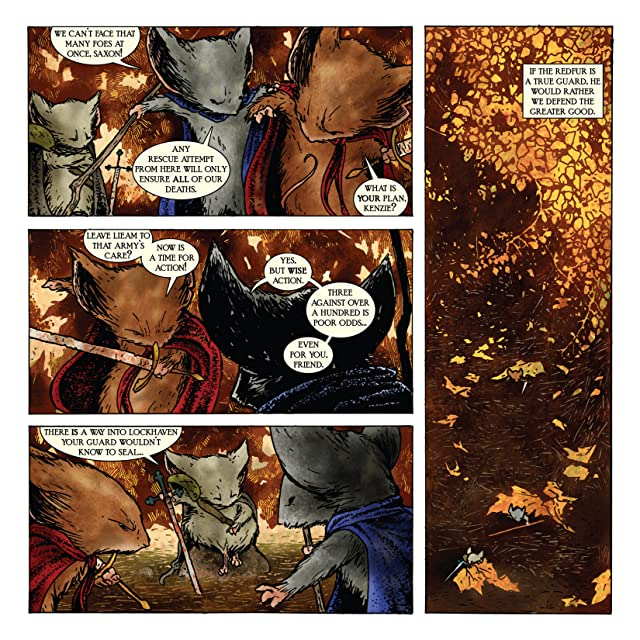 click for super-sized previews of Mouse Guard: Fall 1152 #6