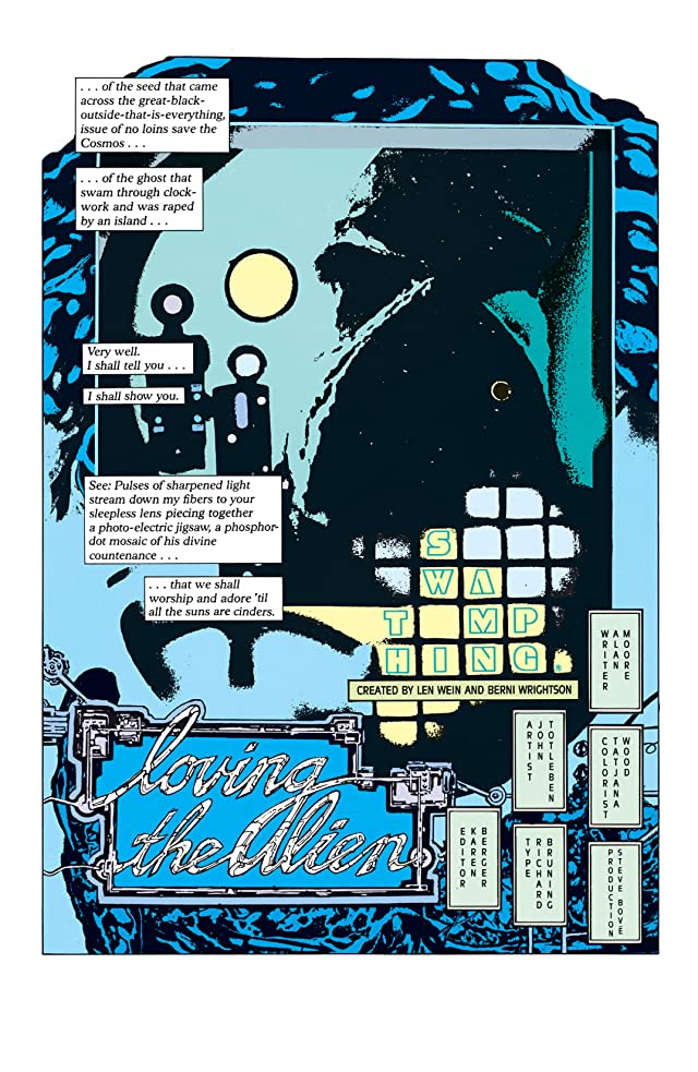 Swamp Thing (1982-1996) #60