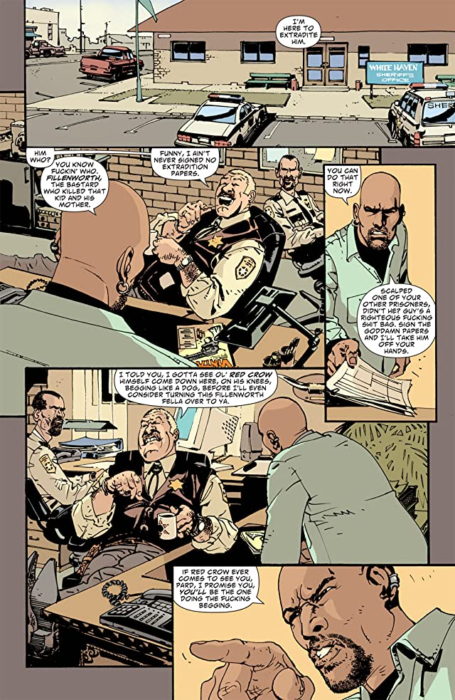 click for super-sized previews of Scalped #30