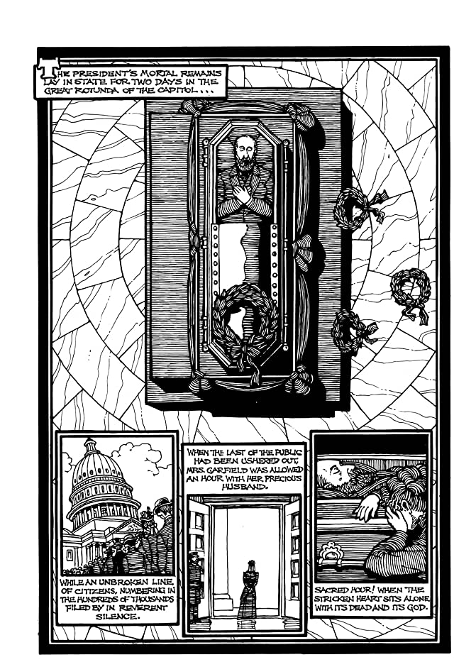 click for super-sized previews of A Treasury of Victorian Murder: The Fatal Bullet- The Assassination of President Garfield