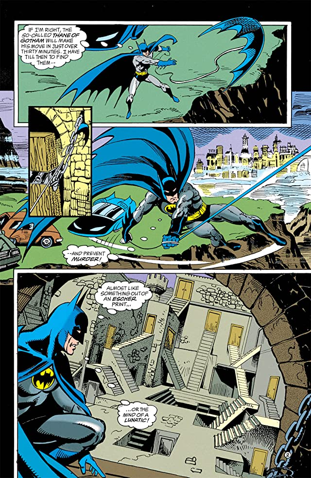 Batman: Shadow of the Bat #10