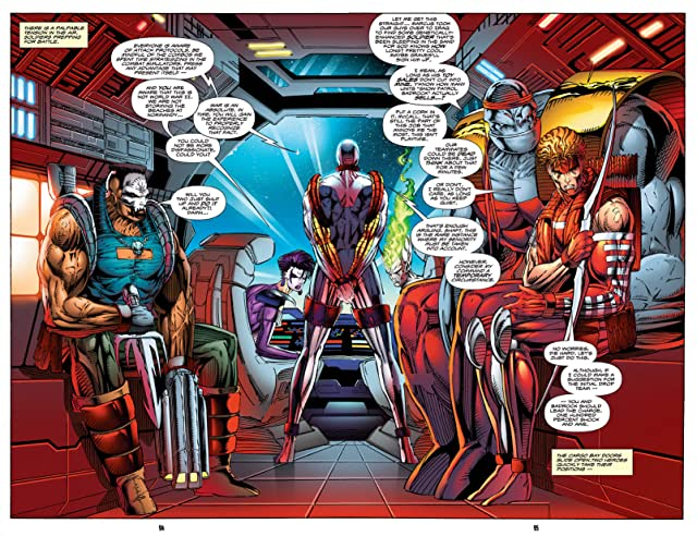click for super-sized previews of Youngblood Vol. 1 #4