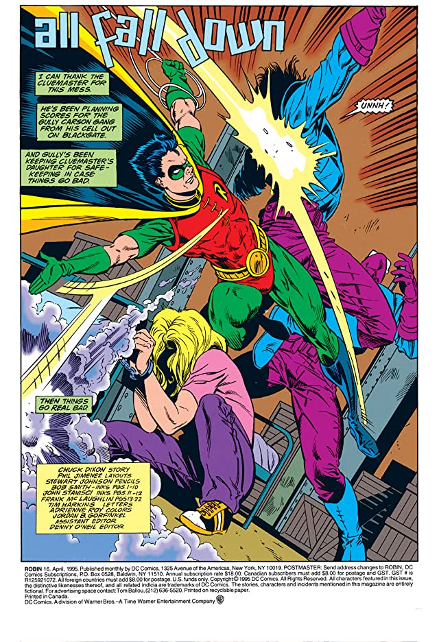 click for super-sized previews of Robin (1993-2009) #16