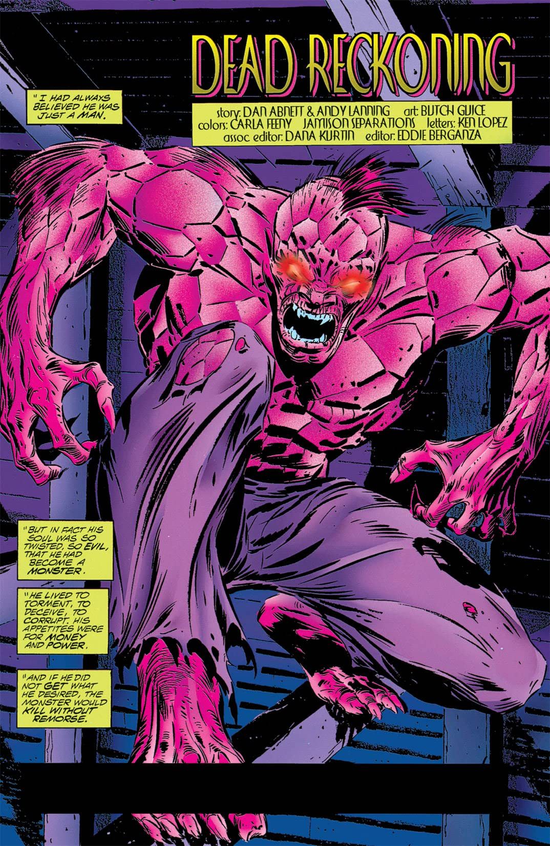 Resurrection Man (1997-1999) #9