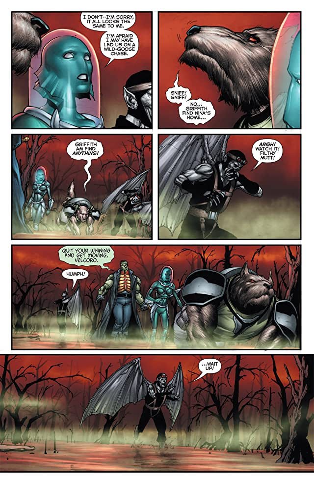 click for super-sized previews of Flashpoint: Frankenstein and the Creatures of The Unknown #2