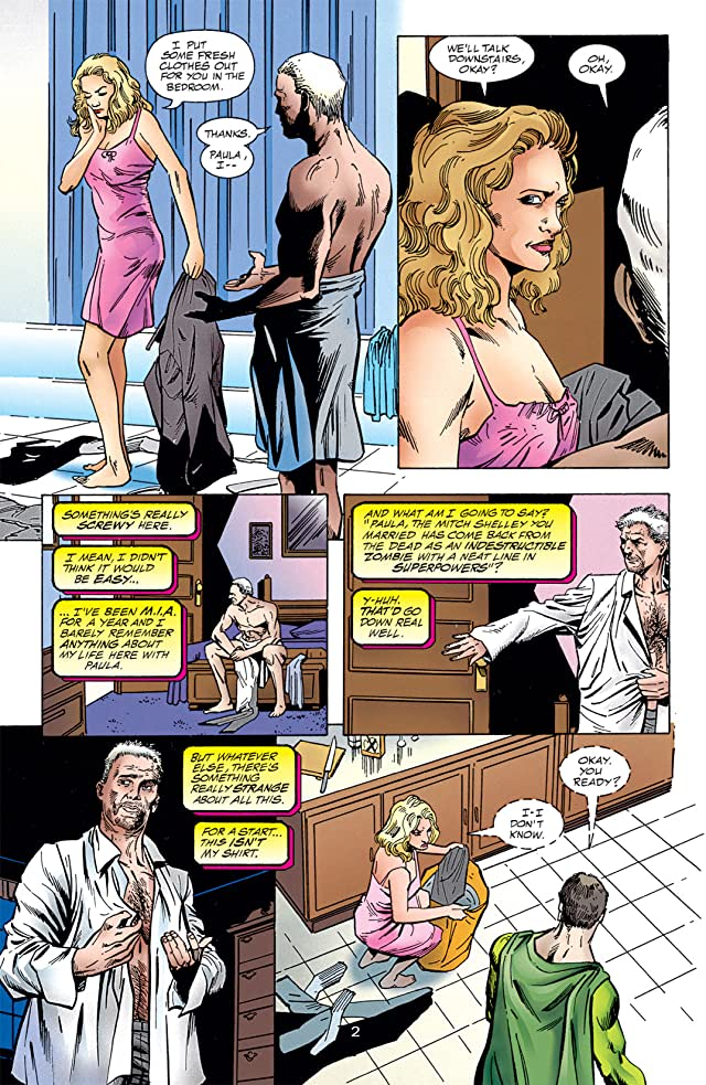 click for super-sized previews of Resurrection Man (1997-1999) #4